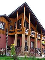 """Фасад загородного дома в поселке """"Вишневый"""""""