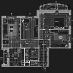 Перепланировка 4-комнатной квартиры.КОПЭ